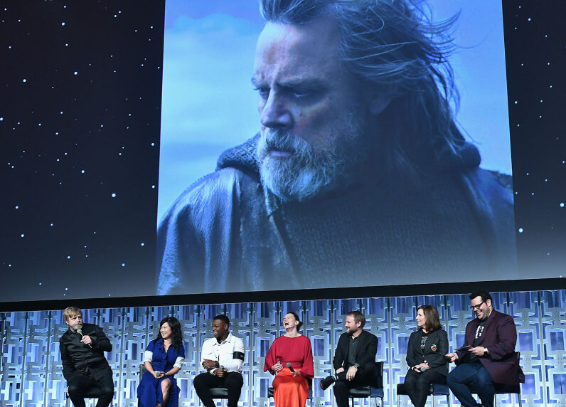 Last Jedi cast at Star Wars Celebration 2017