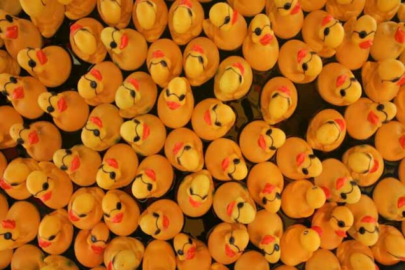 Lucky duck is among the many games at the New Jersey State Fair. You can have your own version at home. © Matt Rainey/Star Ledger/Corbis