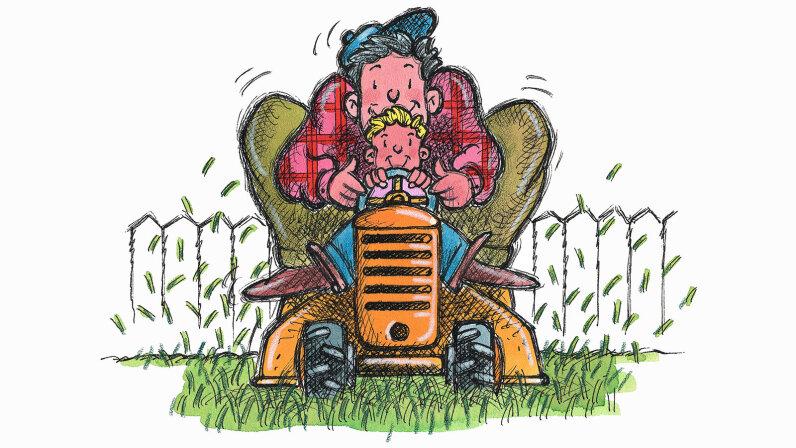 lawnmower parent