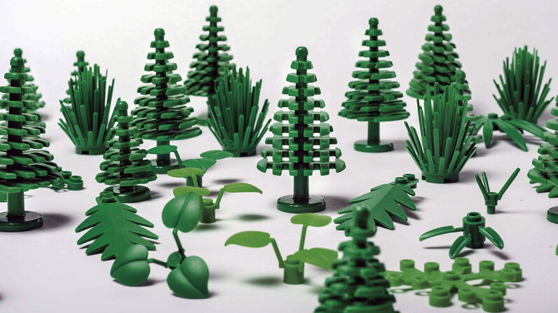 Legos sustainably sourced plastic