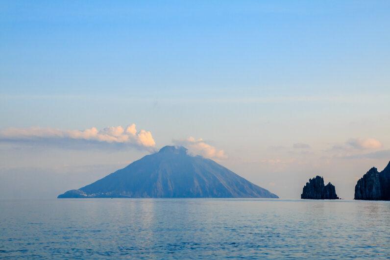 volcano, Stromboli, Sicily