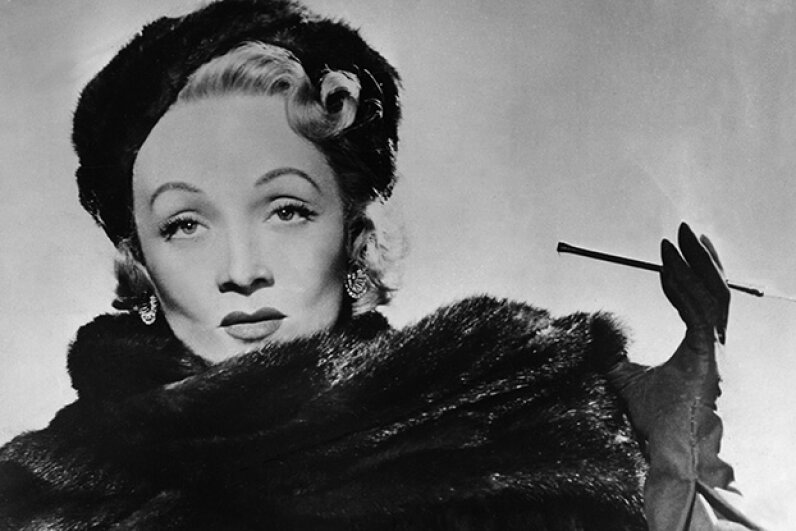 Marlene Dietrich lost a pearl-and-gold earring after riding the roller coaster at Blackpool Pleasure Beach in England in 1934. It was found in 2007 in excellent condition. ullstein bild via Getty Images
