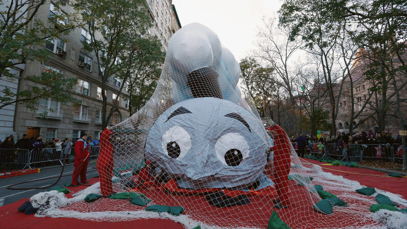 Thomas the Train, balloon, Macy's parade