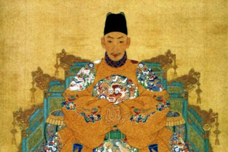 China's Emperor Zhengde liked hunting wild animals almost as much as hunting people. Wikimedia Commons
