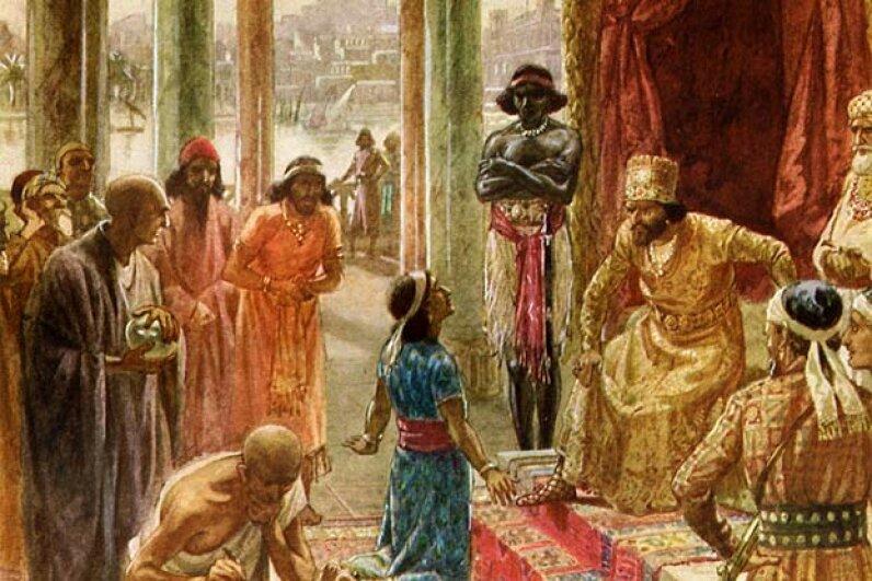 Daniel interprets the dream of Nebuchadnezzar. Culture Club/Getty Images