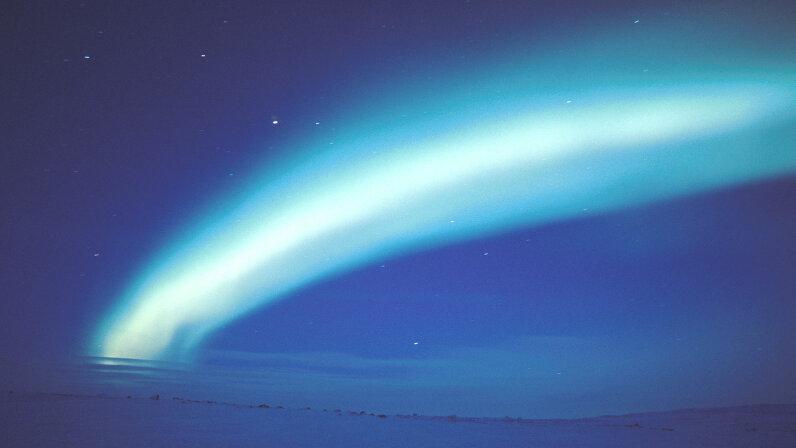 Aurora Borealis, Nunavut, Canada