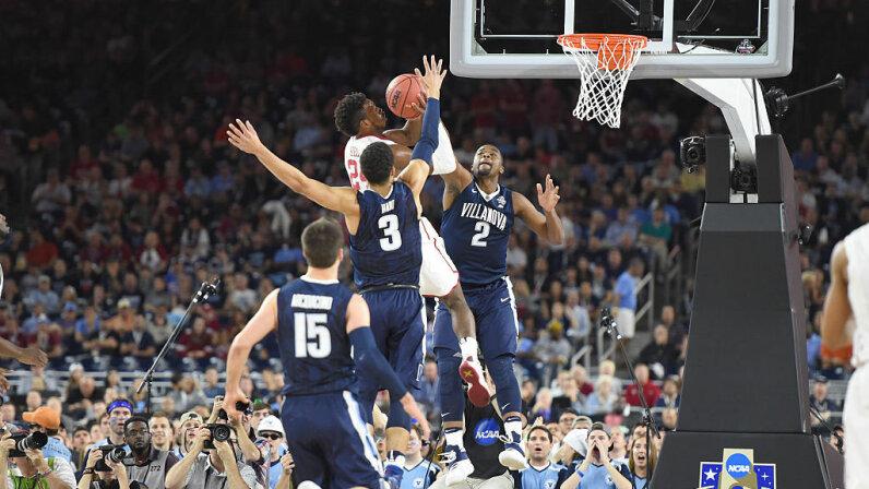 Kris Jenkins, Buddy Hield, 2016 NCAA