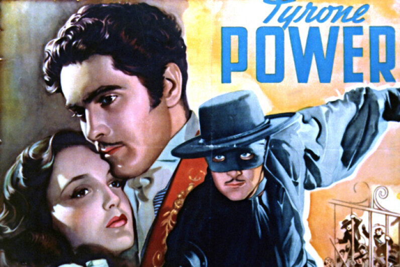 """Tyrone Power, who starred in the 1940 film """"The Mark of Zorro,"""" met a tragic fate while filming a movie in 1958. Silver Screen Collection/Moviepix/Getty Images"""