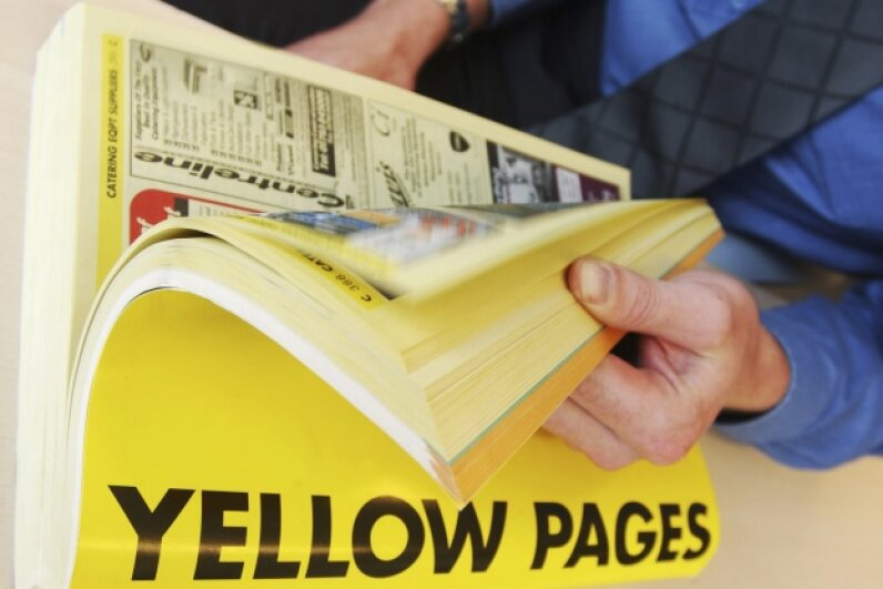 Online advertising is a lot more customizable than a Yellow Pages listing. Newscast/UIG via Getty Images