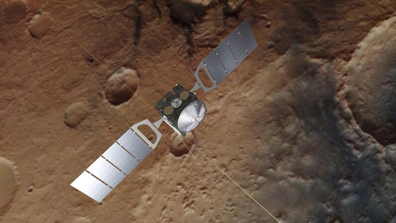 Illustration of Mars Express