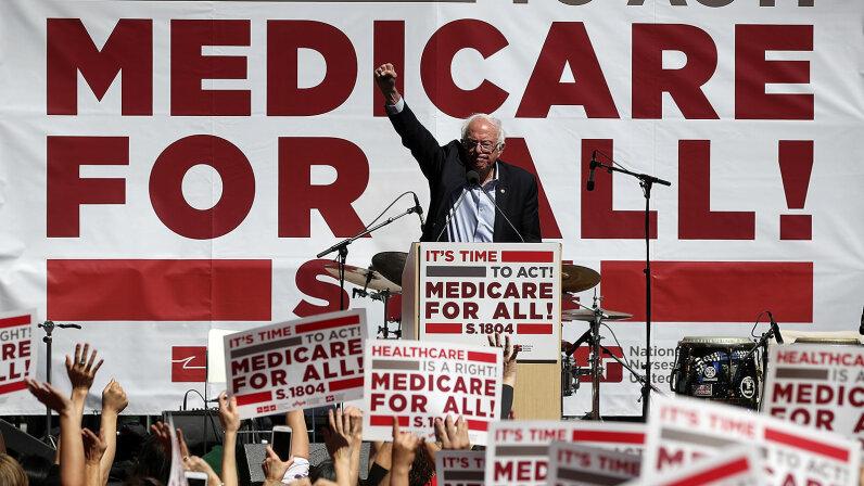 Bernie Sanders. Medicare for All