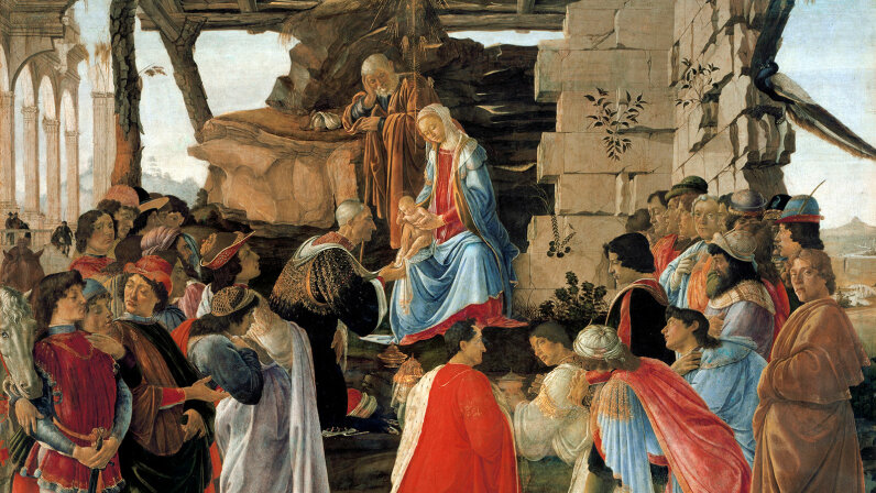 """Adoration of the Magi,"""