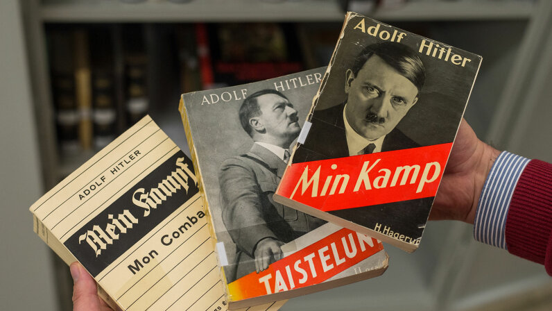 copies of Mein Kampf