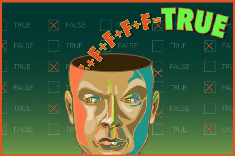 The more times you're fed false information, the more likely you'll think you remembered seeing or hearing it as true elsewhere. © 2015 HowStuffWorks, a division of Infospace LLC