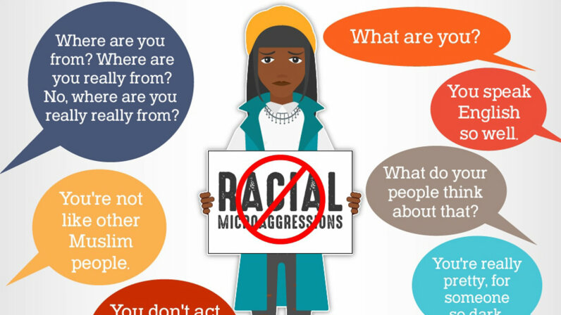 racial microagressions image