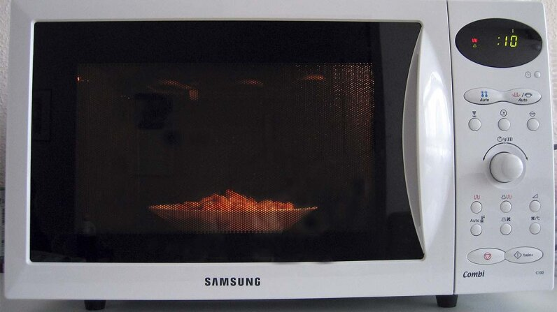 microwave, oven