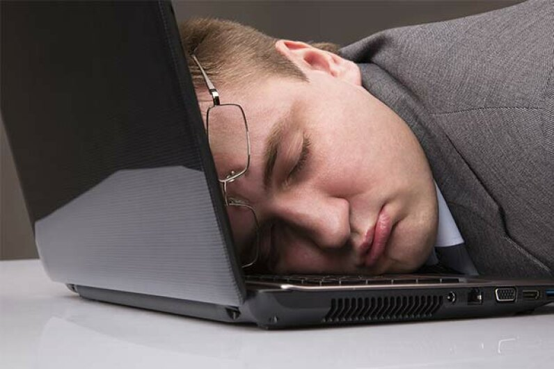 Sleeping on the job is not a given for millennials -- they usually want to work hard. Nomadsoul1/iStock/Thinkstock