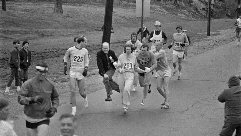 Boston Marathon Kathy Switzer