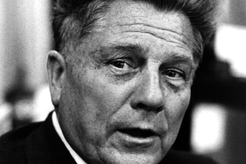 A few weeks before his disappearance, Jimmy Hoffa attended the American Booksellers Association Convention in Washington, D.C. on June 5, 1974. Ron Galella, Ltd./WireImage