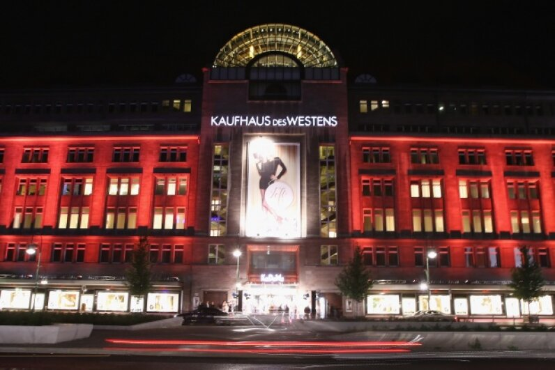 A twin (or two) pulled an Ocean's 11-style heist at the German department store Kaufhaus des Westens, aka KaDeWe. Andreas Rentz/Getty Images
