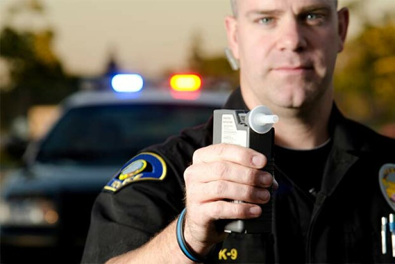 Don't let the cop have to give you the breathalyser test. aijohn784/iStock/Thinkstock