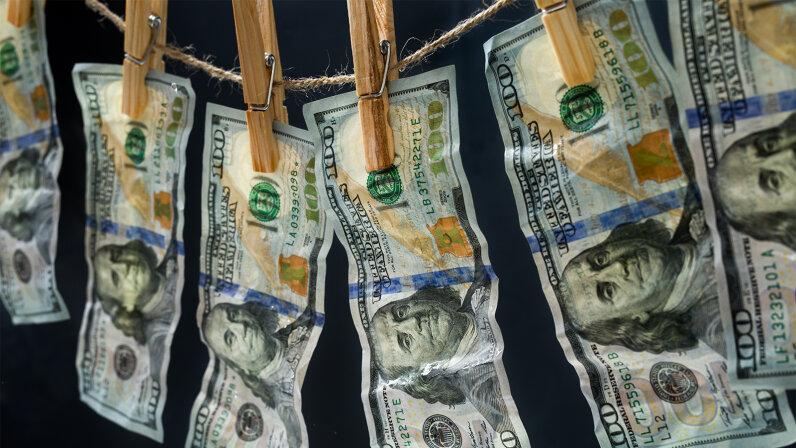 money, laundering