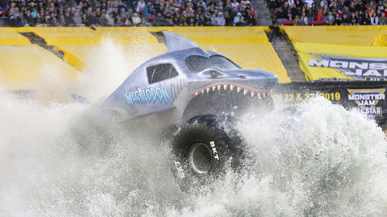 Megaladon Monster Truck Jam