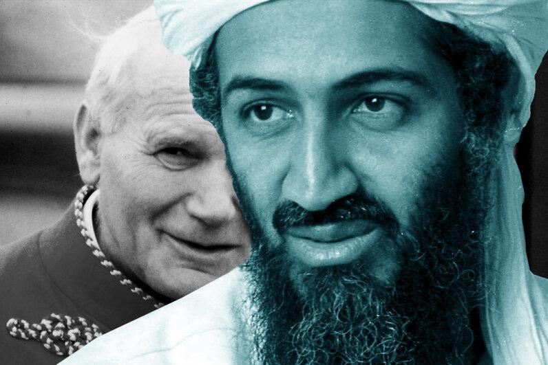 Pope John Paul II's beatification was lost in the coverage of Osama bin Laden's death. GianniFerrari/Cover/UniversalHistoryArchive/GettyImages