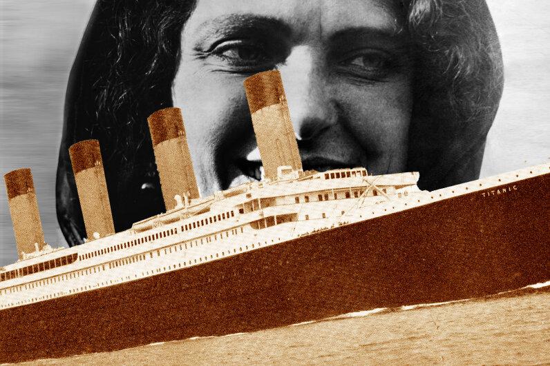 Harriett Quimby, Titanic