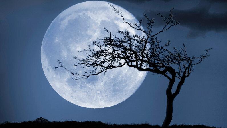 moon, Tuam county galway. Ireland.