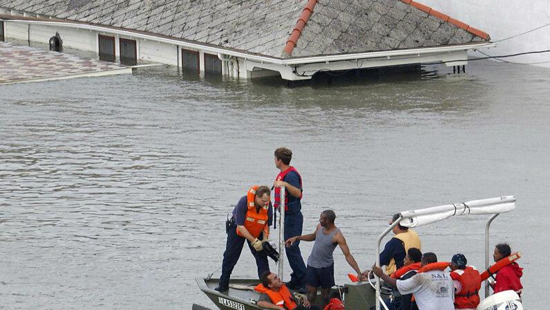 Hurricane Katrina rescue