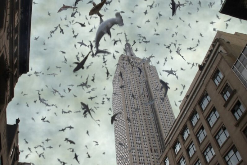 """Of COURSE """"Sharknado"""" makes an appearance on this list.  © Syfy/NBCU Photo Bank via Getty Images"""