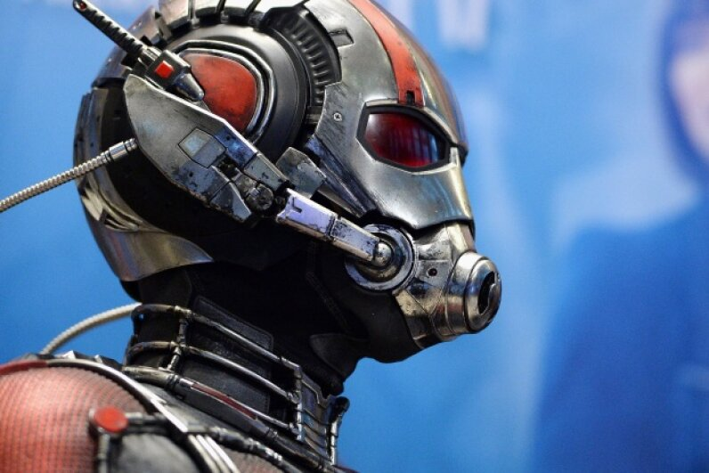 """""""Ant-Man"""" is a fun superhero heist film, but it's not so solid when it comes to how shrinking actually works. Even a Pym particle has to be governed by some consistent scientific laws.  © Andrew Toth/FilmMagic"""