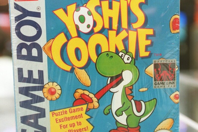 "Yoshi had his own Game Boy title in the early 2000s, but he didn't appear in ""Pokémon Red"" or ""Pokémon Blue."" ©David L. Ryan/The Boston Globe via Getty Images"