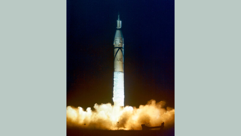 Explorer 1 launch