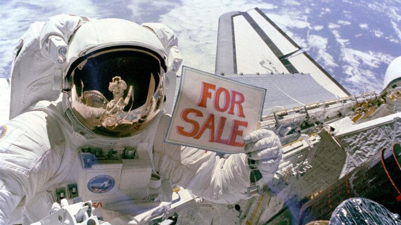 NASA astronaut Dale Gardner