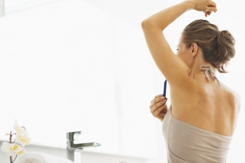 Shaving can actually cause skin irritation, so while most people who choose to shave do so for aesthetic reasons, they could be self-sabotaging. ©Alliance/iStock/Thinkstock