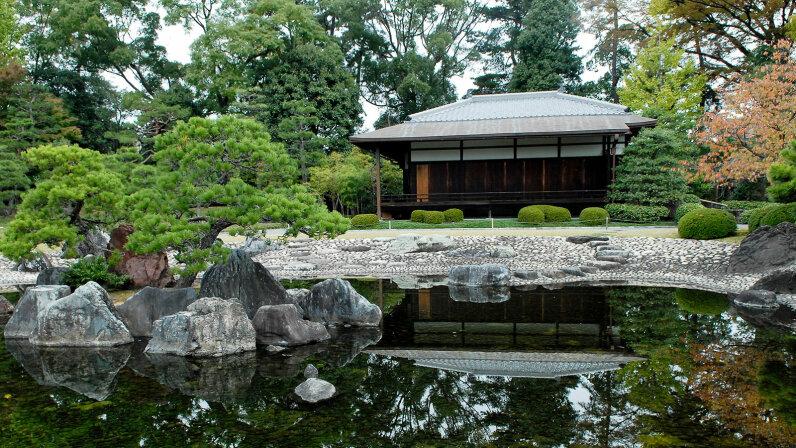 gardens of the Nijo castle
