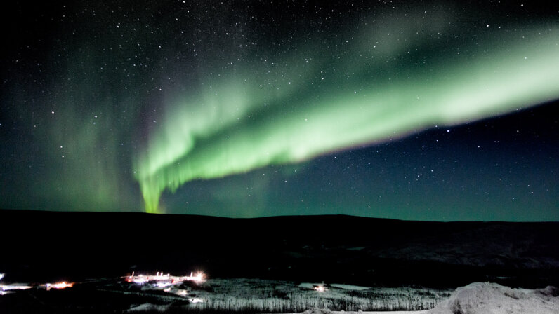 Northern Lights above Alaska