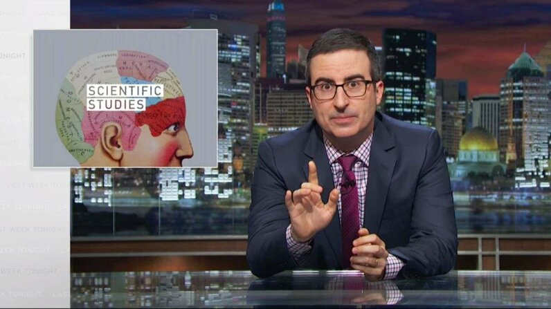 Last Week Tonight with John Oliver: Scientific Studies (HBO) Last Week Tonight