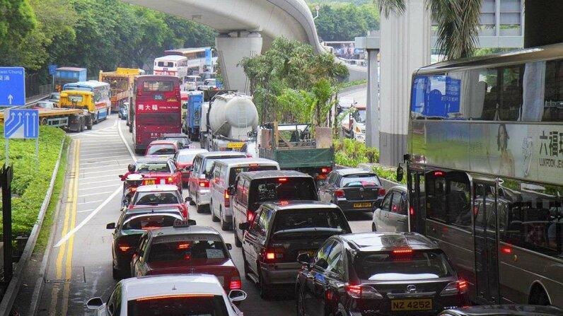 traffic, congestion, lane merging