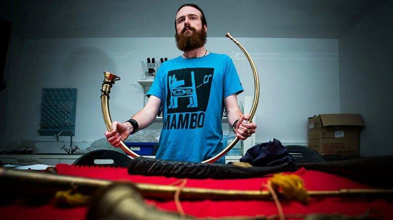 Ancient Irish musical history found in modern India Image: Stuart Hay, ANU; Video: ANU TV