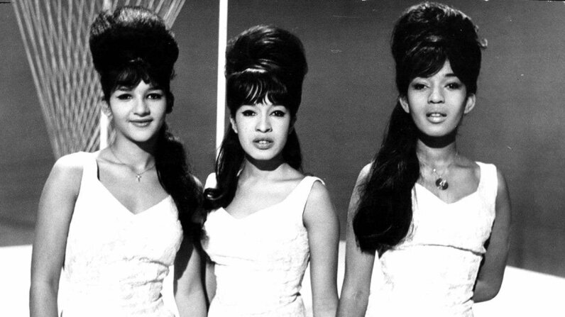 Nedra Talley Ross, Ronnie Spector and Estelle Bennett Vann of the vocal trio the Ronettes posing circa 1964. Michael Ochs Archives/Getty Images