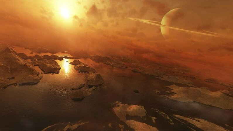Summer Clouds on Saturn's Moon Titan NASA Jet Propulsion Laboratory/YouTube