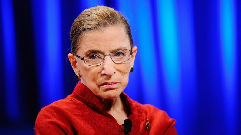U.S. Supreme Court Justice Ruth Bader Ginsburg, pictured here in 2010, is the senior female justice on the court, having served since 1993. Kevork Djansezian/Getty Images