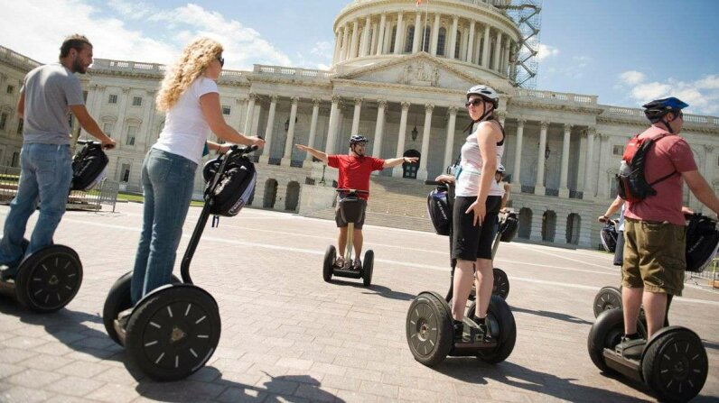 Sure, it's easy to mock the Segway as the tech equivalent of a fannypack. But the transport device paved the way for the current generation. Getty Images