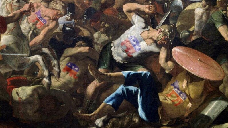 politics, fight, battle
