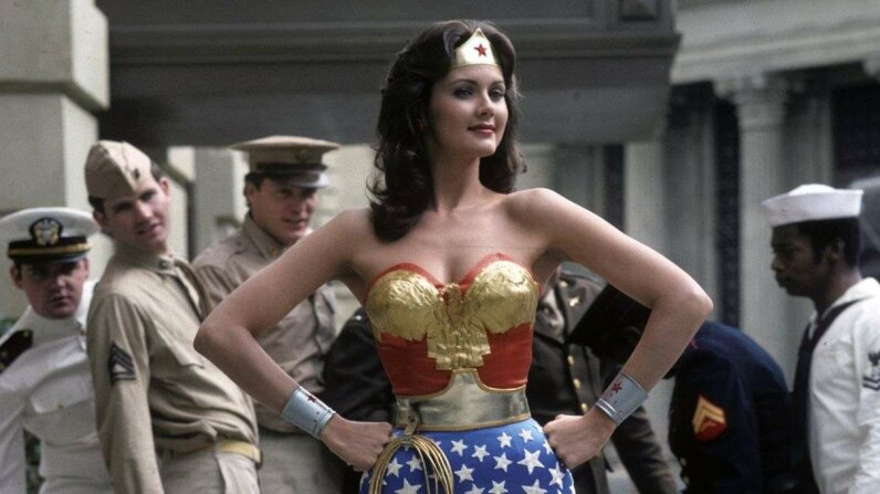 Lynda Carter played Wonder Woman from 1975 to 1979. ABC Photo Archives/ABC via Getty Images