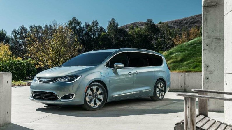 The all-new 2017 Chrysler Pacifica Hybrid. You can think of it as a fuel-efficient living room on wheels. Fiat Chrysler Automobiles - North America