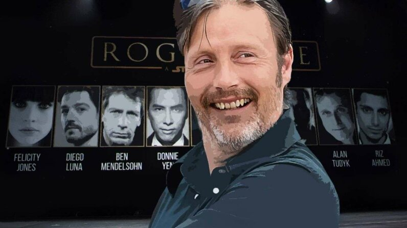 "Don't worry, Mads Mikkelsen. Spoilers aren't rare in Hollywood  or even in the ""Star Wars"" franchise. Venturelli/WireImage/Disney/Image Group/Getty"